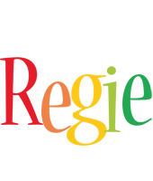 Regie birthday logo