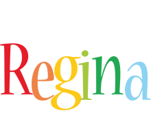 Regina birthday logo