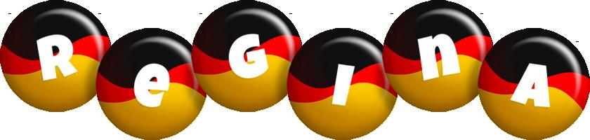 Regina german logo