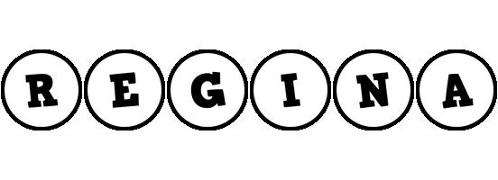 Regina handy logo