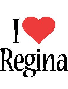 Regina i-love logo