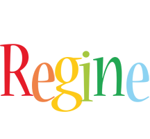 Regine birthday logo