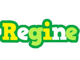 Regine soccer logo