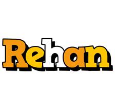 Rehan cartoon logo