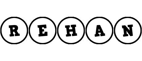 Rehan handy logo