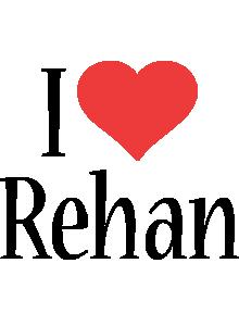 Rehan i-love logo