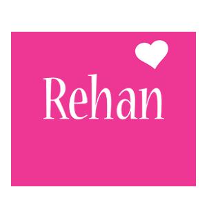 Rehan love-heart logo