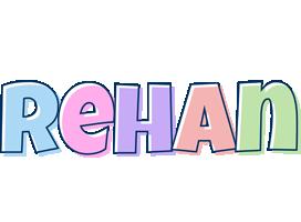 Rehan pastel logo