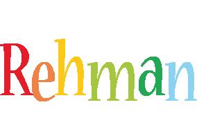 Rehman birthday logo