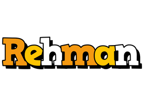 Rehman cartoon logo