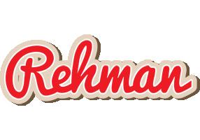 Rehman chocolate logo