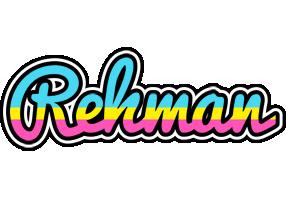 Rehman circus logo