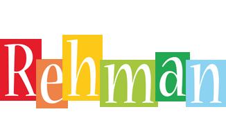 Rehman colors logo