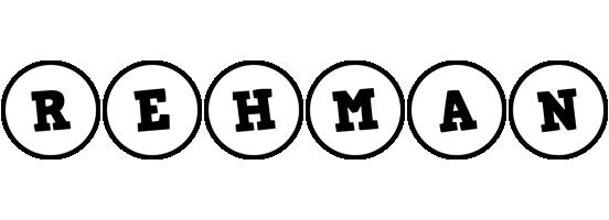 Rehman handy logo