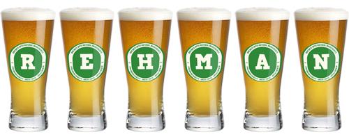 Rehman lager logo