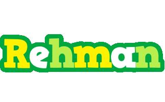 Rehman soccer logo