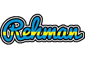 Rehman sweden logo