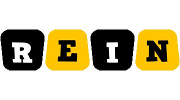 Rein boots logo