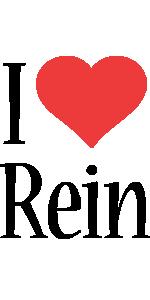 Rein i-love logo