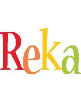 Reka birthday logo