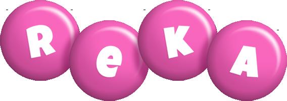 Reka candy-pink logo