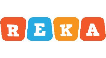 Reka comics logo