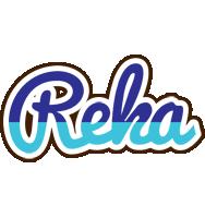 Reka raining logo