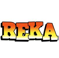 Reka sunset logo