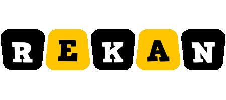 Rekan boots logo
