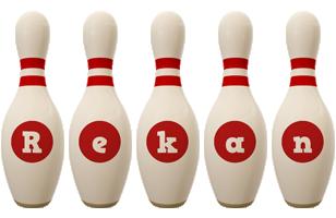 Rekan bowling-pin logo