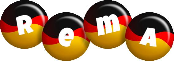 Rema german logo