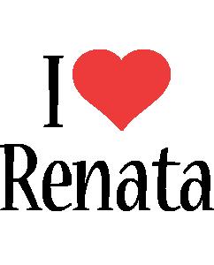 Renata i-love logo