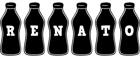 Renato bottle logo