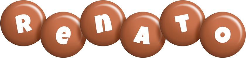 Renato candy-brown logo
