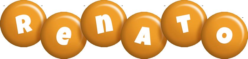 Renato candy-orange logo
