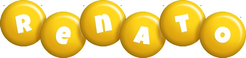 Renato candy-yellow logo