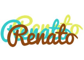 Renato cupcake logo