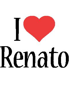 Renato i-love logo