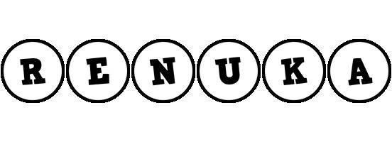 Renuka handy logo