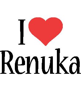 Renuka i-love logo