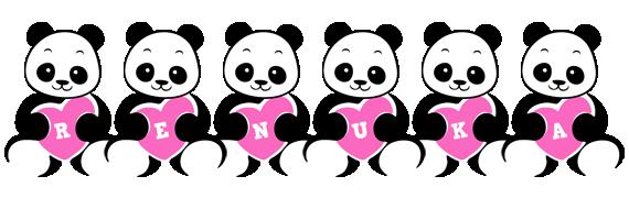 Renuka love-panda logo