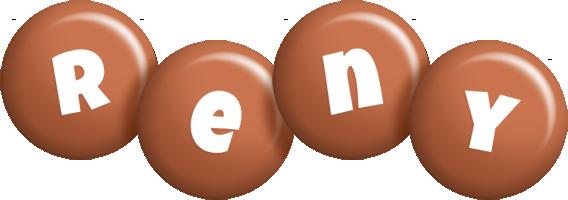 Reny candy-brown logo