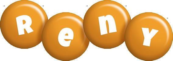 Reny candy-orange logo