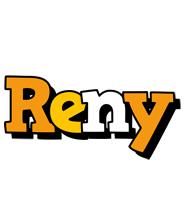 Reny cartoon logo
