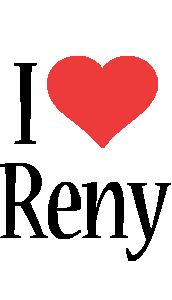 Reny i-love logo
