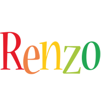 Renzo birthday logo
