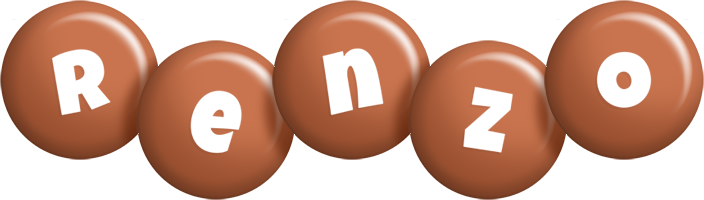 Renzo candy-brown logo