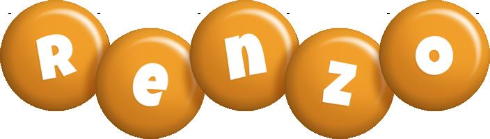 Renzo candy-orange logo