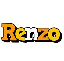 Renzo cartoon logo