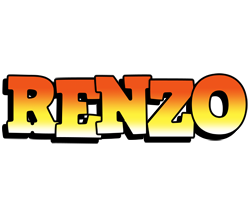 Renzo sunset logo